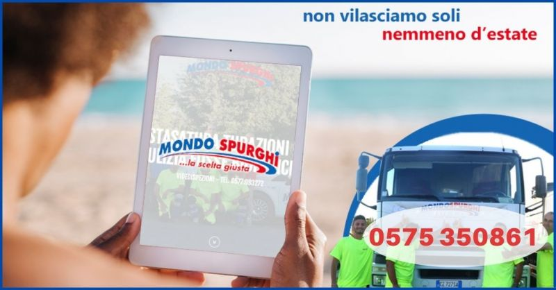 promozione pronto intervento spurgo Arezzo 24 ore su 24 - MONDO SPURGHI
