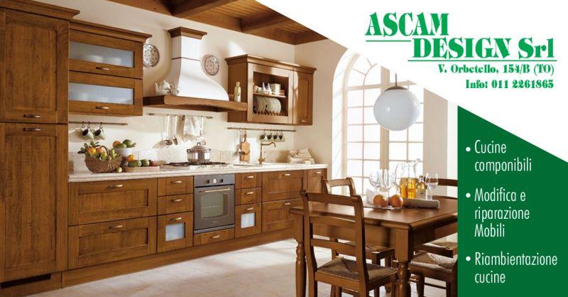 ASCAM DESIGN - Offerta Riparazione Mobili Di Falegnameria Torino