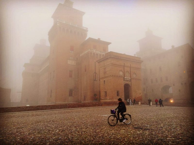 Urban Nordic Walking a Ferrara: le mura e i parchi