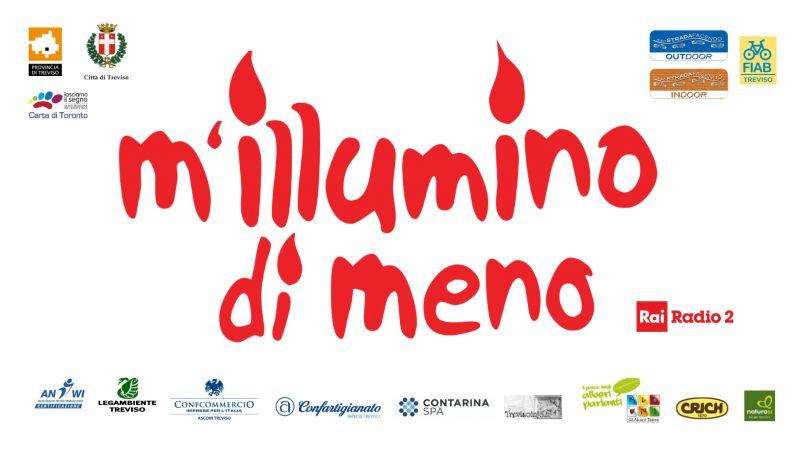 M'illumino di meno 2019 a Treviso