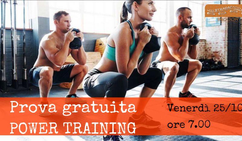 Offerta prova gratuita POWER Training a Treviso - Occasione lezione di prova allenamento alta intensità a Treviso
