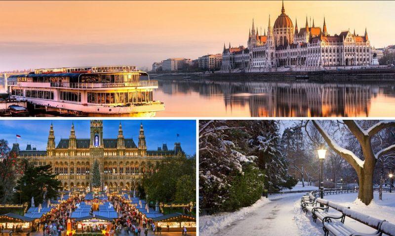 Offerta Capodanno a Vienna con tour cittadino tra i parchi Treviso - Occasione viaggio ultimo dell'anno a Vienna Treviso