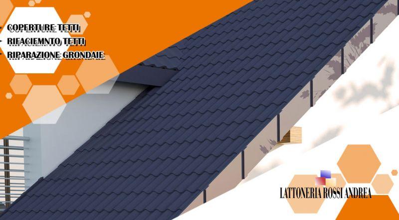 Lattoneria Rossi Andrea - Offerta coperture tetti con pannelli metalli e ecologici parma
