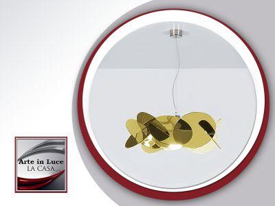 offerta lampada a sospensione bea maxi gold occasione bea maxi gold emporium arte in luce