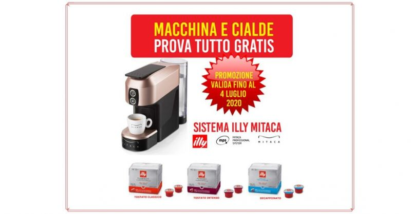 DIBA 70 - promozione macchina e capsule da caffè in prova omaggio Siena