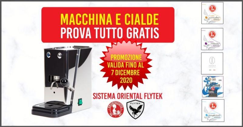 occasione vendita macchine da caffè e cialde delle migliori marche a Siena e provincia