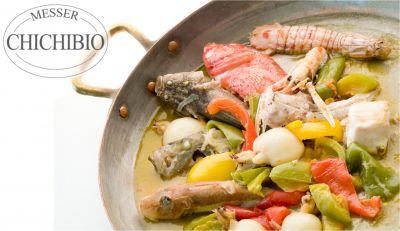 offerta ristorante specialita pesce occasione brodetto alla sambenedettese cucina tipica