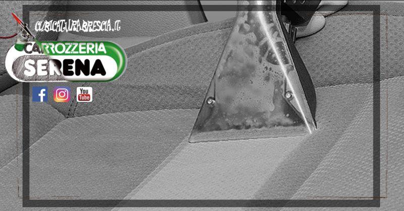 Offerta Servizio Lavaggio di interni auto Brescia - Occasione Pulizia tappezzeria e sedili Auto