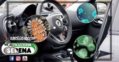offerta sanificazione di interni auto brescia occasione igienizzazione interni auto brescia