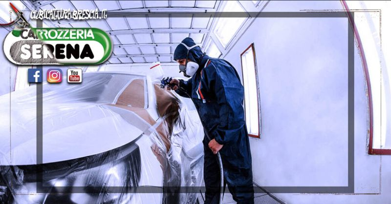 Offerta Servizio Verniciatura carrozzeria vettura Bergamo - Occasione Verniciatura Auto preventivo