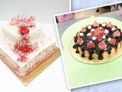 torte artigianali dalla gelateria panna e caffe