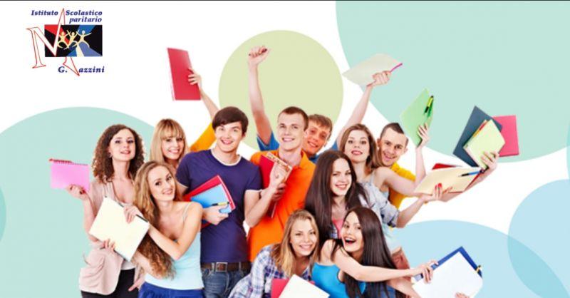Istituto Scolastico paritario G.Mazzini offerta corsi di studio - occasione scuola superiore