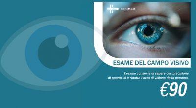 offerta esame del campo visivo a udine sanirad occasione esame sulle patologie legate all occhio a udine