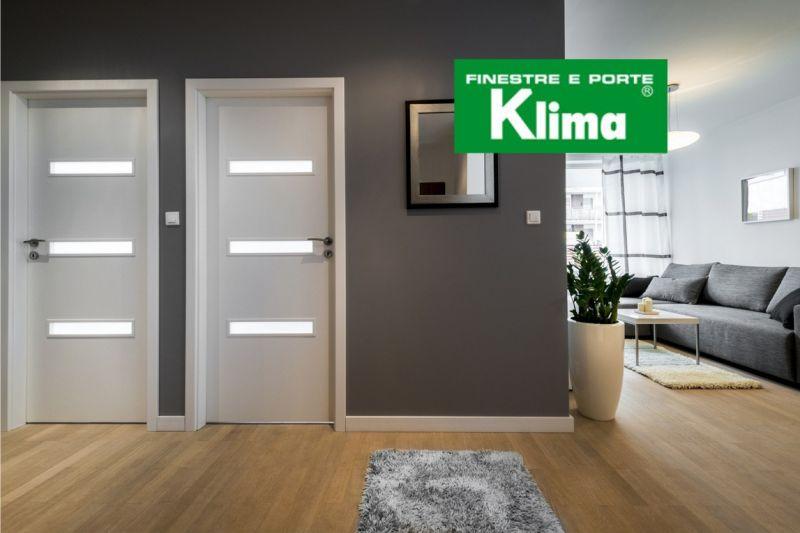 KLIMA SERRAMENTI offerta realizzazione porte interno esterno su misura - installazione zanzarie