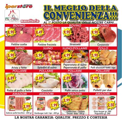 fm carni offerte promo carni paesane genuinita macelleria macellerie benevento