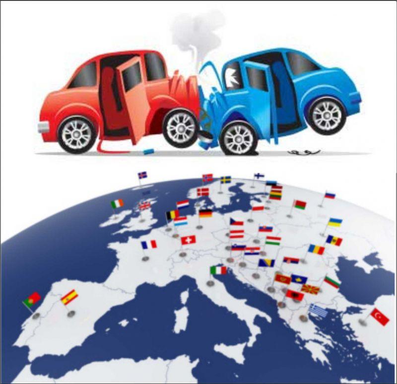 pratiche risarcimento danni stradali estero