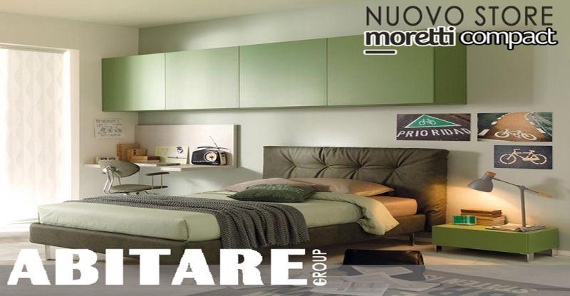 Offerta arredamento zona notte moretti compact cosenza - promo camera letto soggiorno rovito