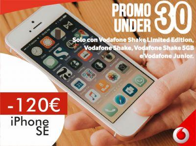 offerta iphone se trapani promozione sconto smartphone vodafone store martinez