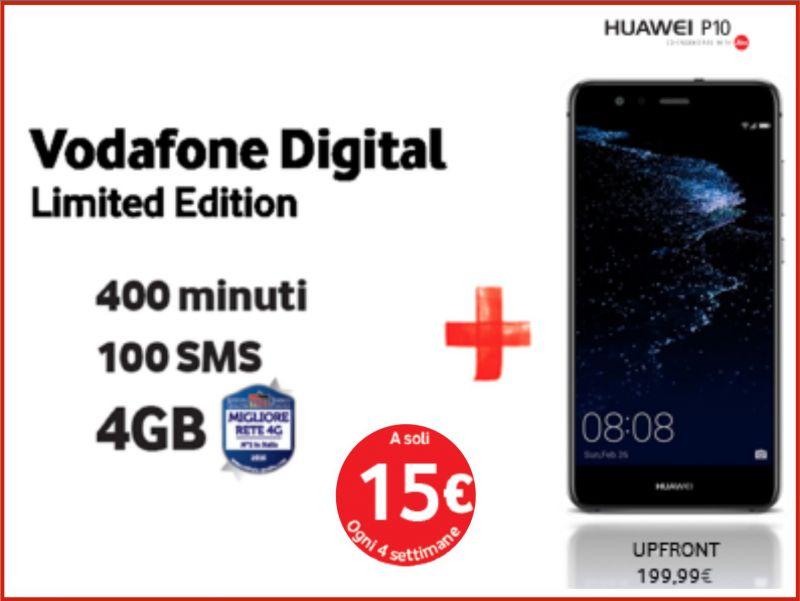 offerta minuti internet cellulare promozione smartphone incluso vodafone store martinez