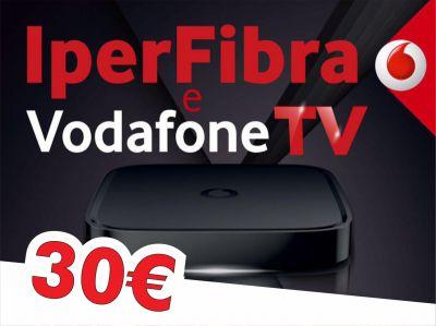offerta fibra vodafone promozione internet e tv vodafone store fardella