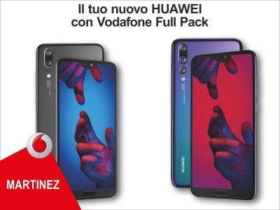 offerta abbonamento huawei promozione smartphone full pack vodafone store martinez