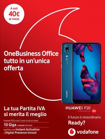 offerta vodafone business tutto incluso promozione vodafone huawei p20
