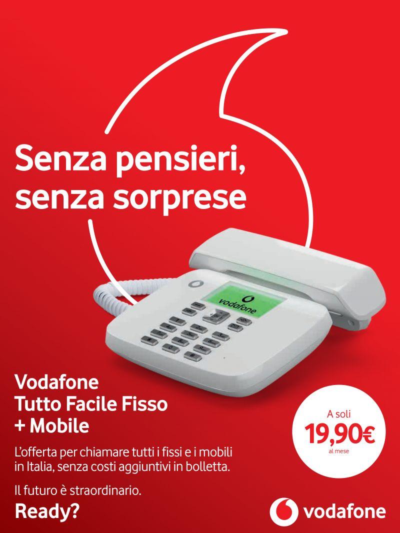 Offerta Vodafone Fisso E Mobile Promo Vodafone Tutto Sihappy