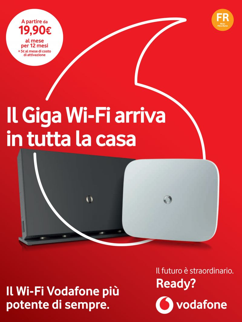 offerta wifi vodafone casa - promozione abbonamento internet casa vodafone