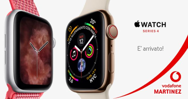 VODAFONE STORE MARTINEZ offerta apple watch serie 4 trapani - occasione nuovo apple watch 4