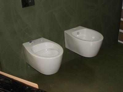 simas lft spazio sospesi vaso bidet sedile ceramica bianca