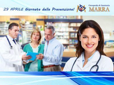 offerta giornata della prevenzione promo ecodoppler vista posturale podologica ortopedia marra