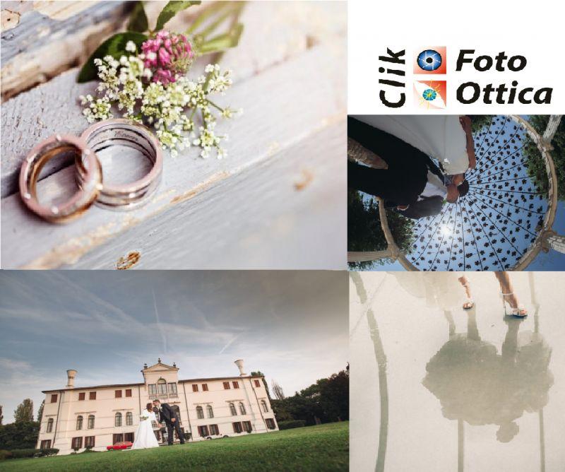 Foto Ottica Clik occasione servizio fotografico - offerta book matrimoniale Brugnera