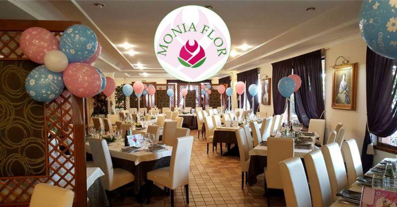 Fioricoltura Monia Flor - offerta composizione palloncini personalizzata per festa