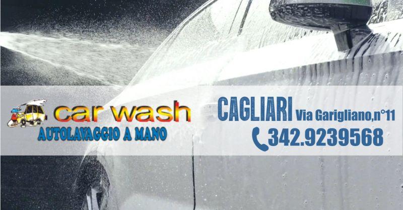 CarWash  - offerta servizio di autolavaggio a mano Cagliari