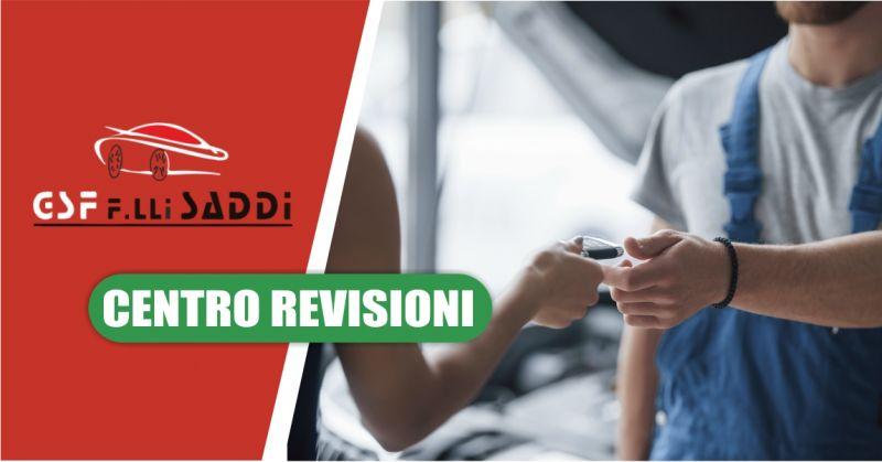 GSF F LLI SADDI CENTRO REVISIONI - offerta servizio ritiro e consegna auto a domicilio