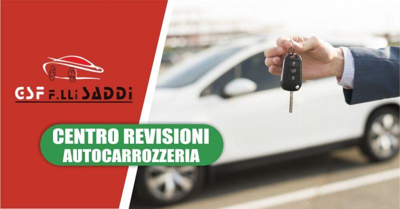 AUTOCARROZZERIA GSF  F.LLI SADDI - offerta auto di cortesia Cagliari