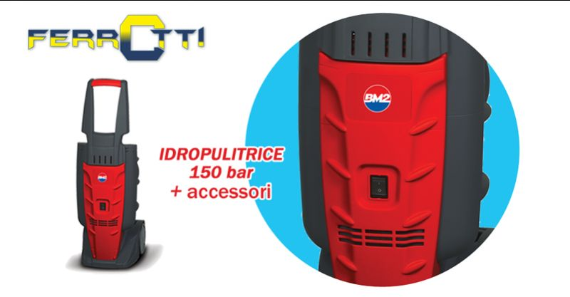 offerta IDROPULITRICE M160 BM2 150 bar - occasione idropulitrice acqua fredda ferrotti aldo