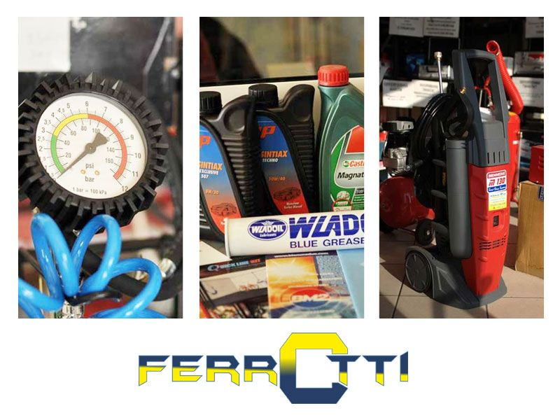 offerta vendita assistenza idropulitrici compressori - attrezzature industriali