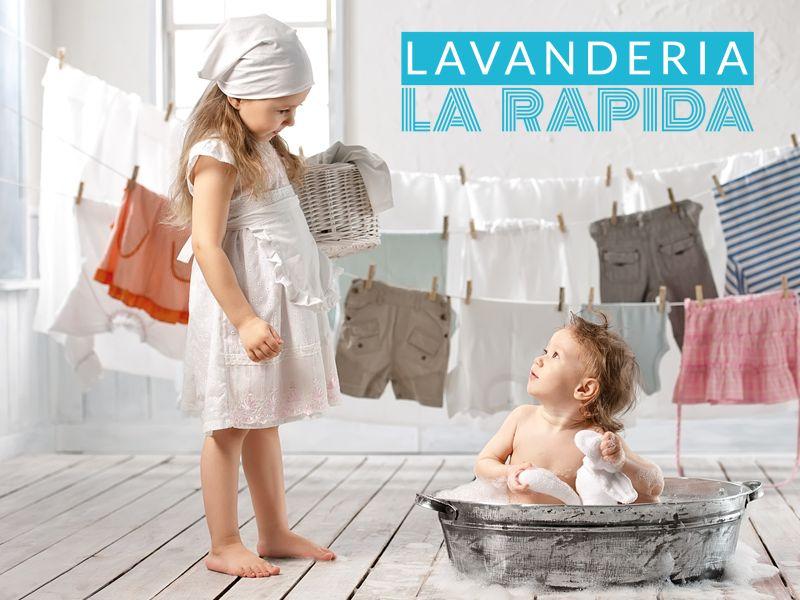 offerta lavanderia rapida promozione lavaggio stiratura lavanderia la rapida