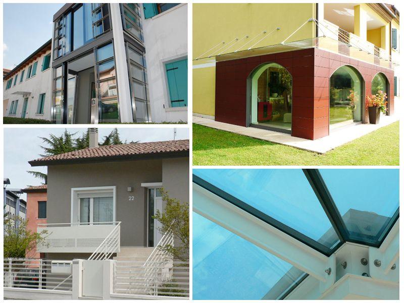 promozione abitazioni maserada sul piave offerta vetrate scorrevoli ser lux