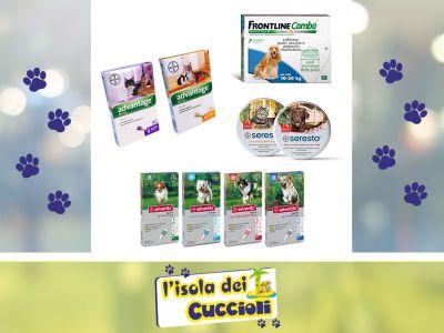 offerta antiparassitari cane narni promozione antiparassitari gatto narni isola dei cuccioli