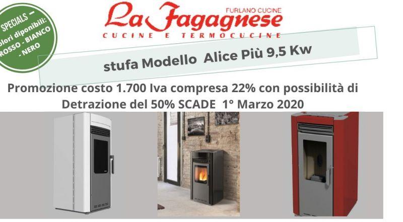 Occasione stufa a pellet con detrazione fiscale a Udine - Vendita stufa per la casa a Udine