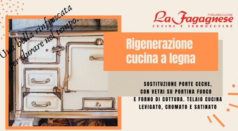 OCCASIONE rigenerazione di vecchie cucine a Udine – offerta ristrutturazione stufa a legna a Udine
