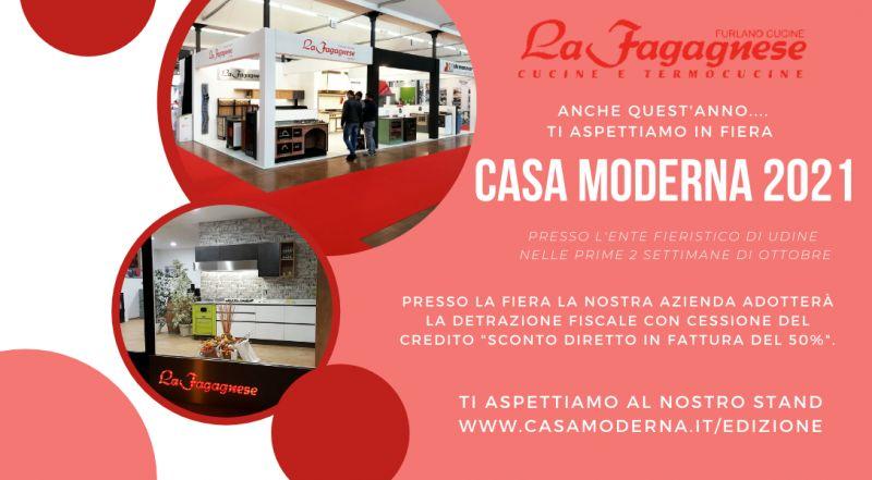 offerta cucine su misura fiera casa Modena 2021 – occasione rigenerazione vecchie cucine a legna a Udine