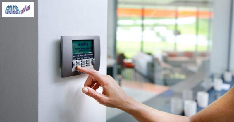 Golob Services occasione vendita sistemi di allarme -offerta antifurto per abitazioni e aziende