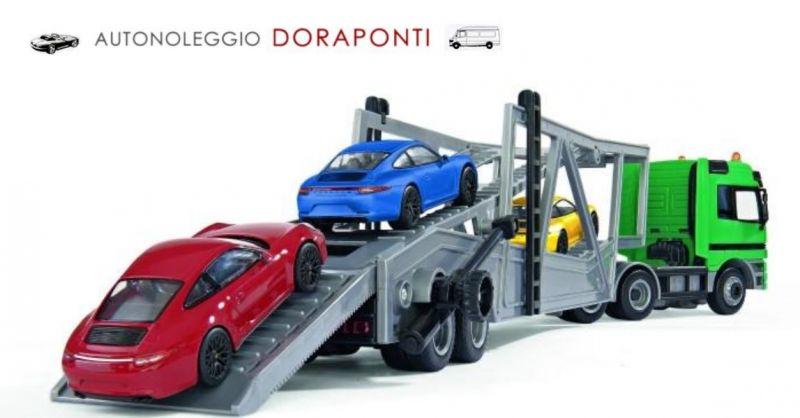 Autonoleggio Doraponti occasione trasporto veicolo - offerta spostamento veicoli eccezionali