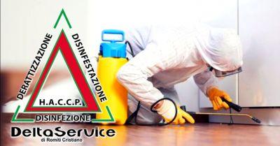 offerta servizio di disinfestazione professionale occasione servizi di derattizzazione terni