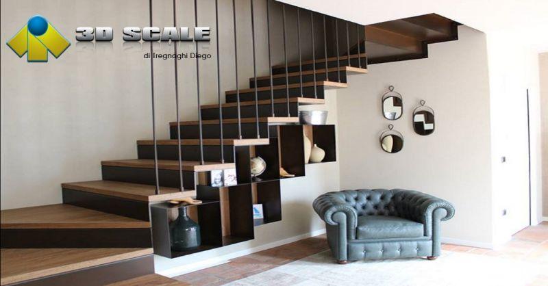 3D SCALE offerta scale su misura - occasione progettazione scale per interni su misura a Verona