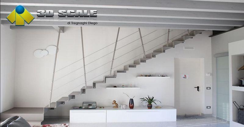 3D SCALE offerta scale modulari per interno - occasione realizzazione scale a chiocciola Verona