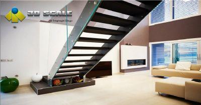 3d scale offerta progettazione scale per interni occasione realizzazione scale per esterni